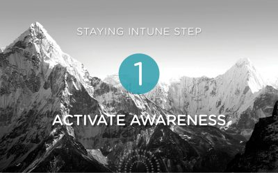Step 1: Get Intune by Activating Awareness