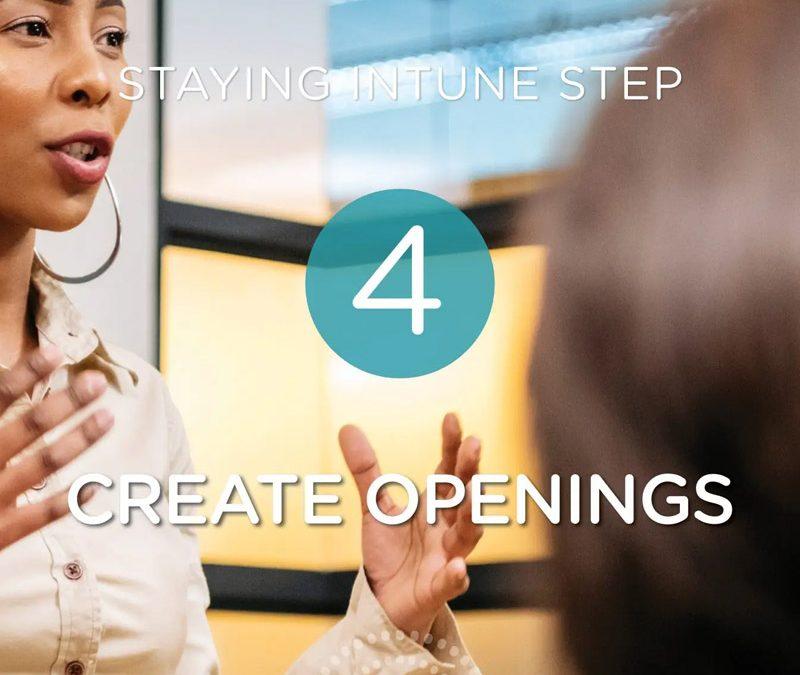 Step 4: Getting Intune: Creating Openings