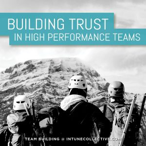 Building Trust in High Performance Teams